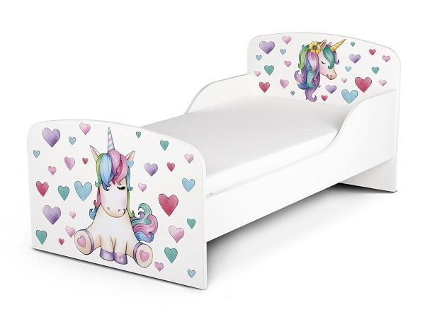 Letto con disegno unicorno, da Leomark