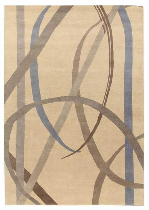 Gio Ponti - Amini - tappeto Lettera disegnata grey