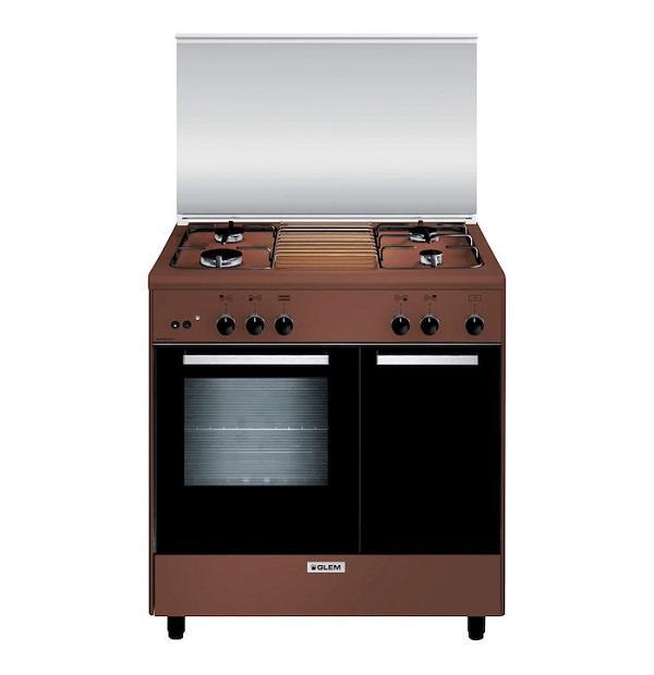 Cucina a libera installazione AR854GC Glem Gas