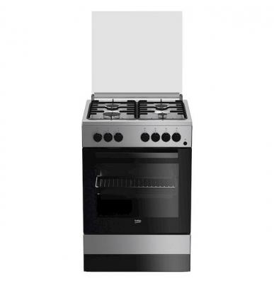 Cucina a libera installazione FSS61DXMM da 4 fuochi della Beko