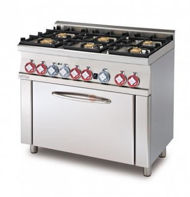 Cucina componibile a gas statico con grill e griglia by Lotus
