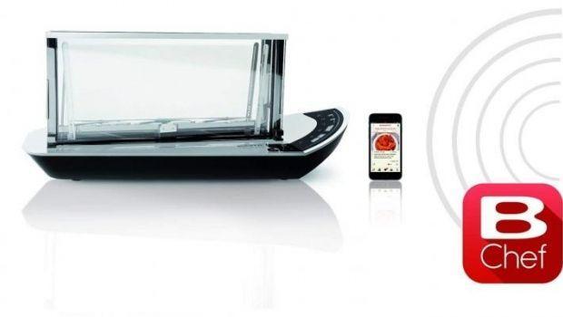 Tostapane in vetro trasparente: una proposta elegante e funzionale