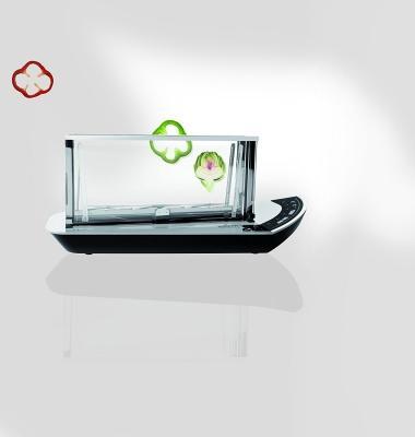 Il tostapane in vetro e smart di Casa Bugatti