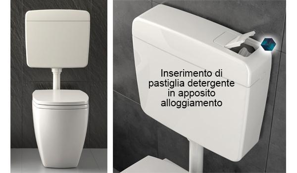 Cassetta wc a zaino Corallo3 di Valsir