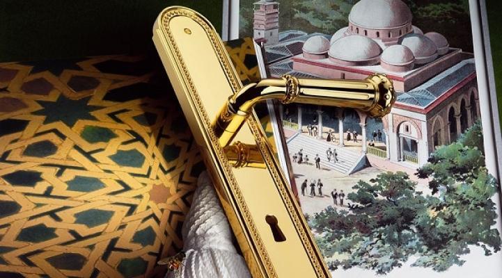 Maniglia Byblos di Colombo Design