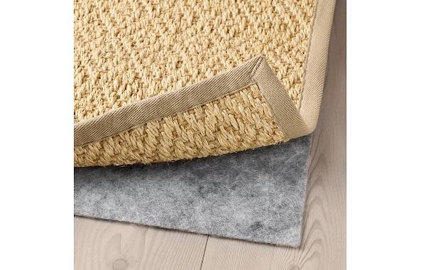 Dettaglio del tappeto Vistosoft Ikea