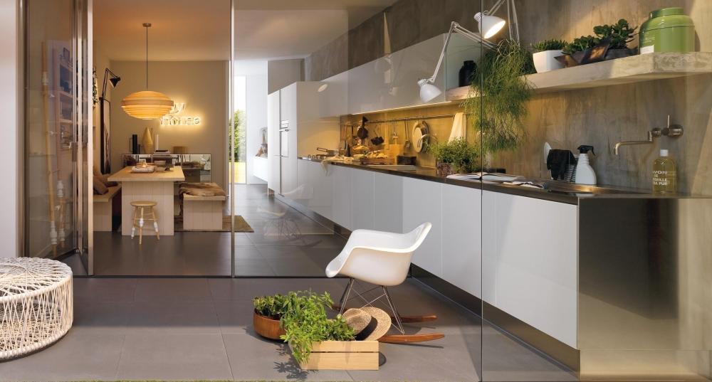 Cucina living Collezione Gamma - Arclinea