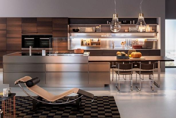 Cucina e soggiorno Collezione Convivium - Arclinea