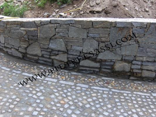 Pietre per rivestimenti muretti e pavimentazione