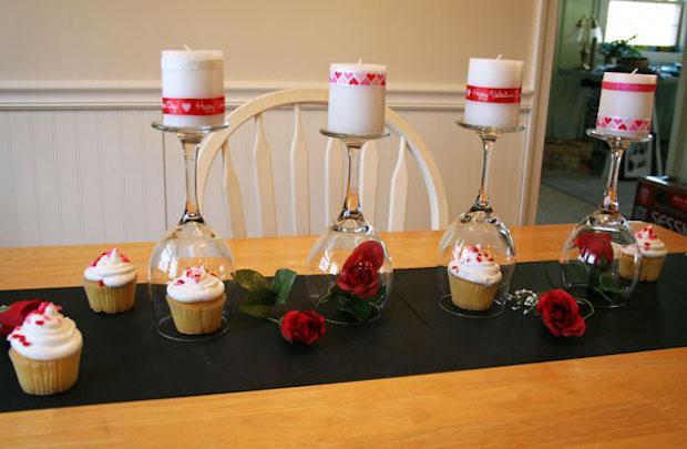Cena di San Valentino in casa: runner con carta lavagna, parte 2, da hometalk.com