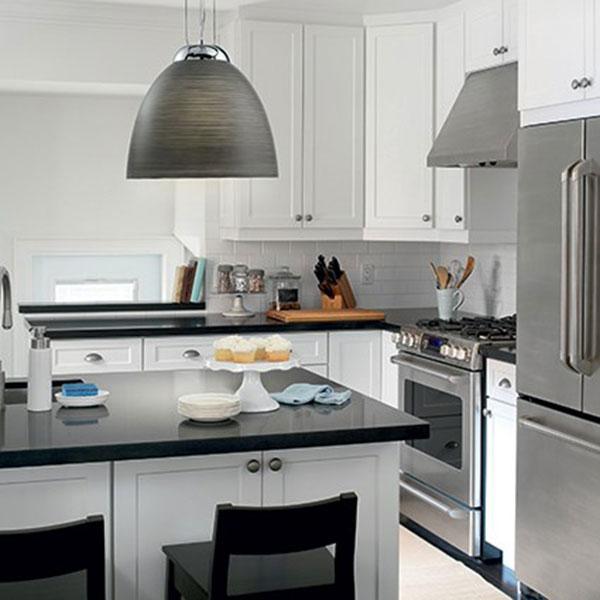 Rivestire decorare e illuminare la cucina - Punti luce in cucina ...