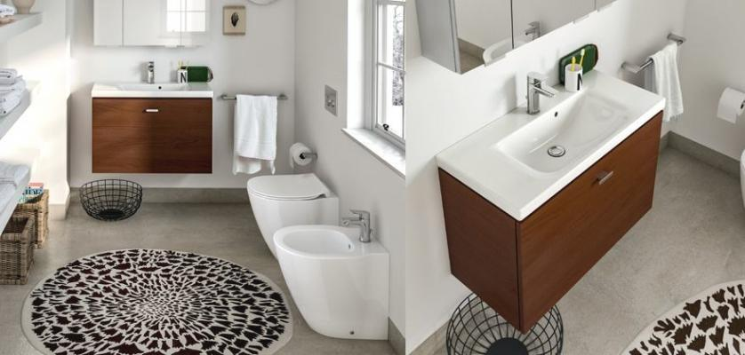 Arredo salvaspazio per bagno Connect Space Ideal Standard