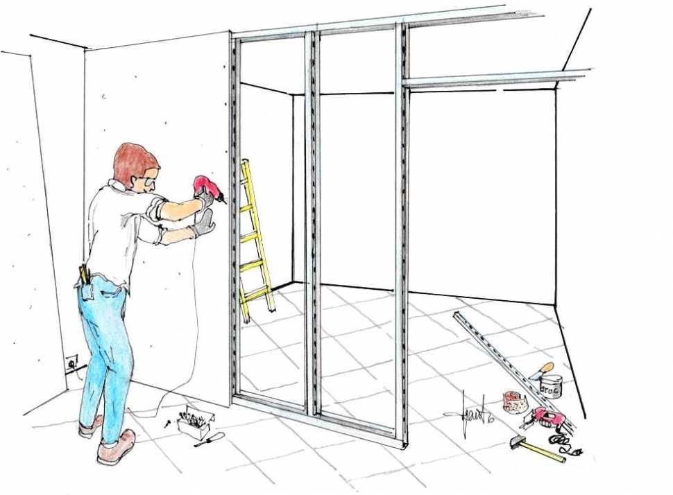 Costruire una cabina armadio