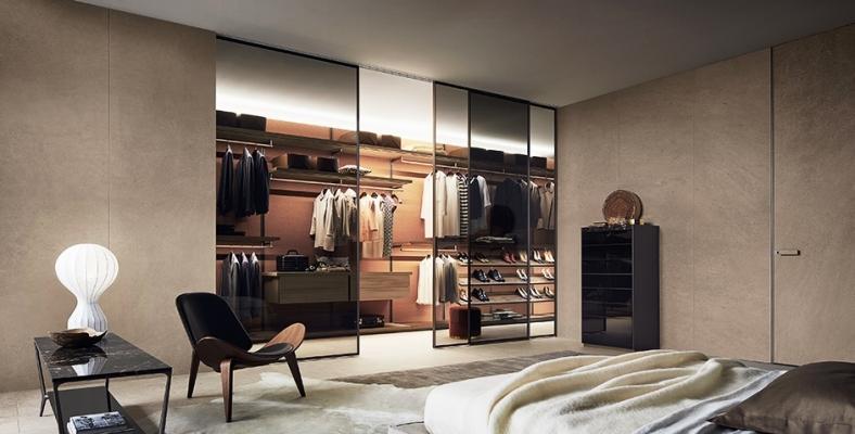 Soluzione cabina armadio Dress Bold - Rimadesio