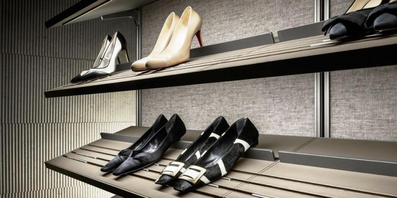 Scarpiera di cabina armadio Dress Bold Rimadesio