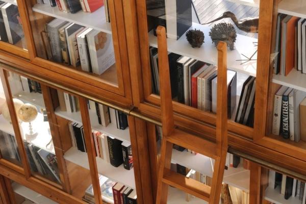 Particolare libreria Biedermeier - Morelato