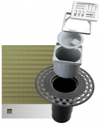 Bocchettone per pluviale Genius con griglia di protezione, by Eterno Ivica