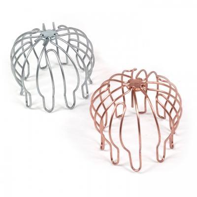 Griglie parafoglie per pluviali in metallo, by adi s.n.c.
