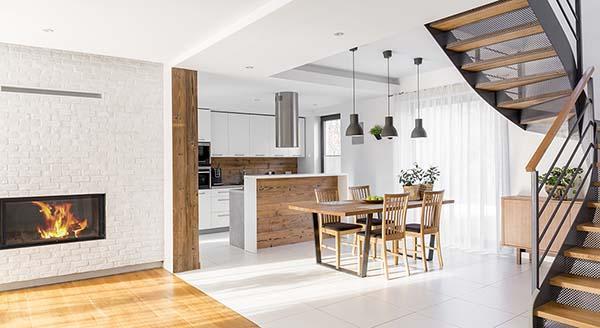 Spazioso appartamento su due piani sovrapposti
