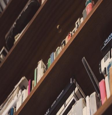 Libreria nel sottoscala da pxhere.com