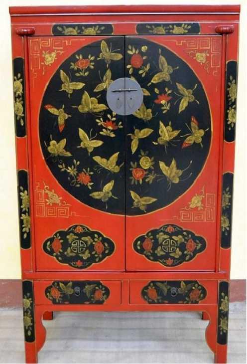 Mobile stile orientale, perfetto per la camera feng shui, by Senza Confini