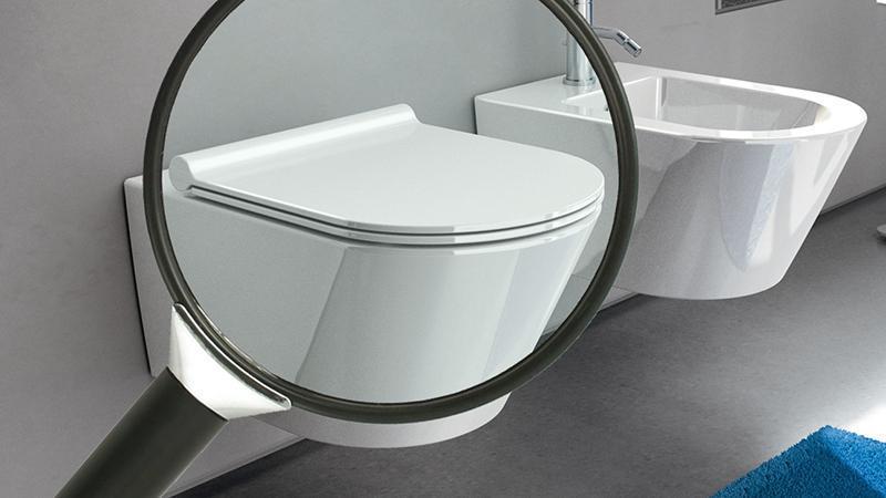 Sostituzione del sedile del wc for Cambiare tavoletta wc sospeso