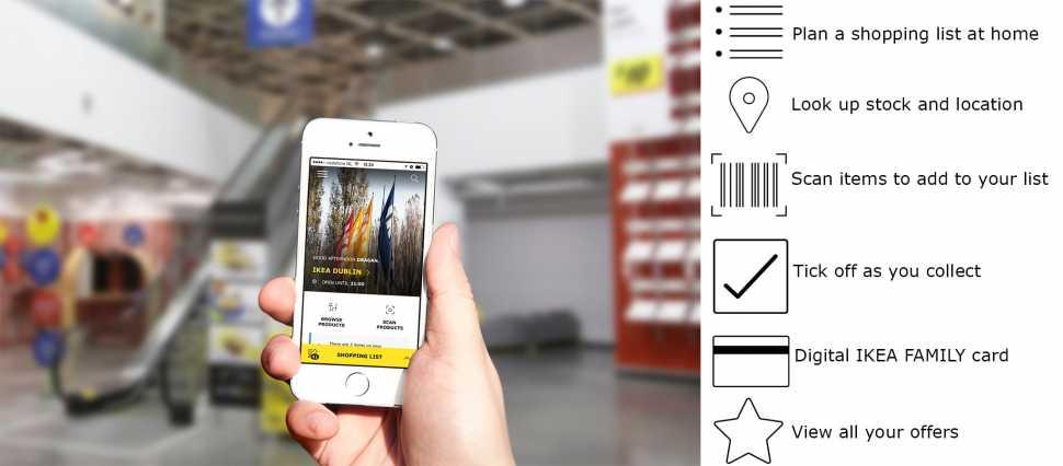 Applicazioni IKEA per arredare casa