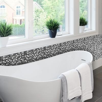Piastrelle mosaico da bagno adesive