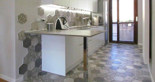Cementine cucina Marazzi - Linea Clays