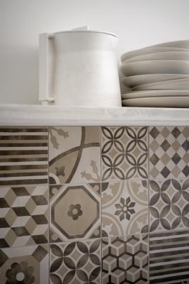 Cementine per cucina in grès porcellanato: collezione Block by Marazzi