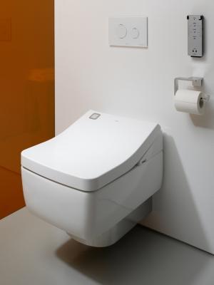 Toto: wc e bidet insieme