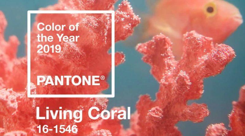 Trend arredo 2019 - Pantone Living Coral