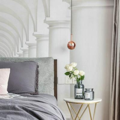 Accessori design casa: lampada rose gold Amazon