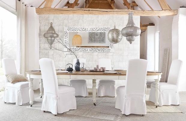 Tavolo rotondo allungabile: da 6 a 14 posti, da Maisons du Monde
