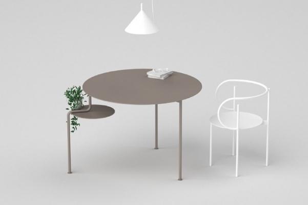 Tavolo rotondo design firmato Nendo, da ZENS Lifestyle