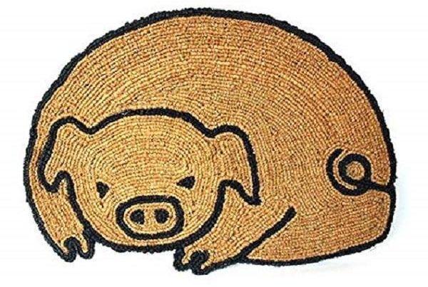 Zerbino a forma di maiale, da Amazon