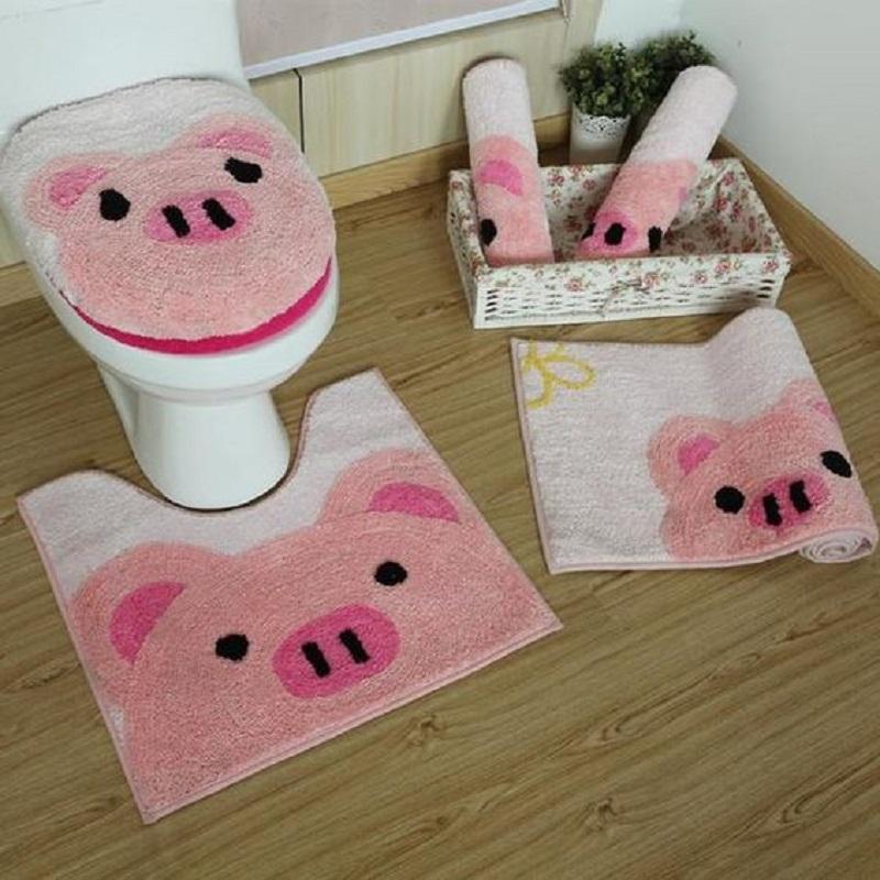 Divertenti maiali in bagno, da barnsmile.com
