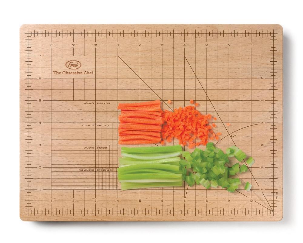 Food design: il tagliere per chef maniaci della precisione, da Fred