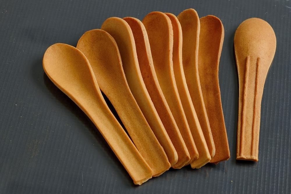 Food design: cucchiaini commestibili, da Bakeys