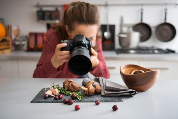 Food Photography ripresa in ambiente