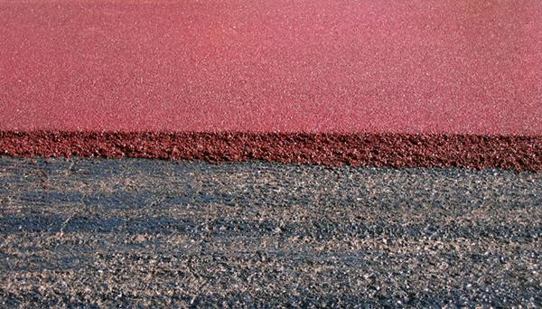 Tappetino di usura in asfalto colorato, by Costruzioni Pesaresi Giuseppe