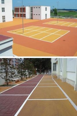 Parcheggi in asfalto colorato, by RAS