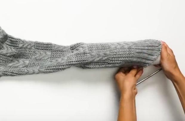 Come dipingere le pareti con una maglia di lana, parte 1, da 5-Minute Crafts