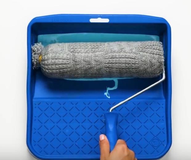 Come dipingere le pareti con una maglia di lana, parte 2, da 5-Minute Crafts