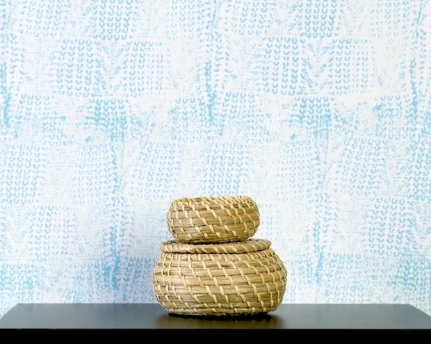 Come dipingere le pareti con una maglia di lana, risultato, da 5-Minute Crafts