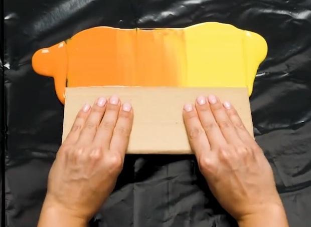 Idee creative per dipingere le pareti: effetto striato, parte 3, da 5-Minute Crafts