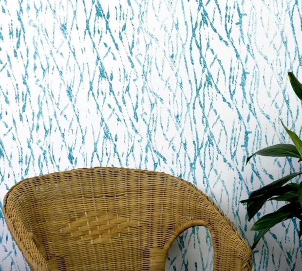 Dipingere le pareti in modo creativo con la corda, da 5-Minute Crafts
