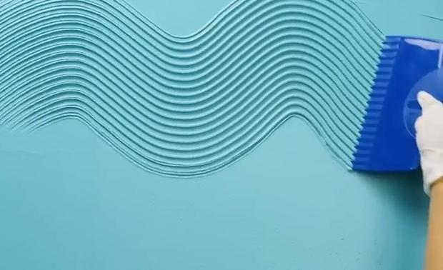 Parete creativa con onde in rilievo, parte 2, da 5-Minute Crafts