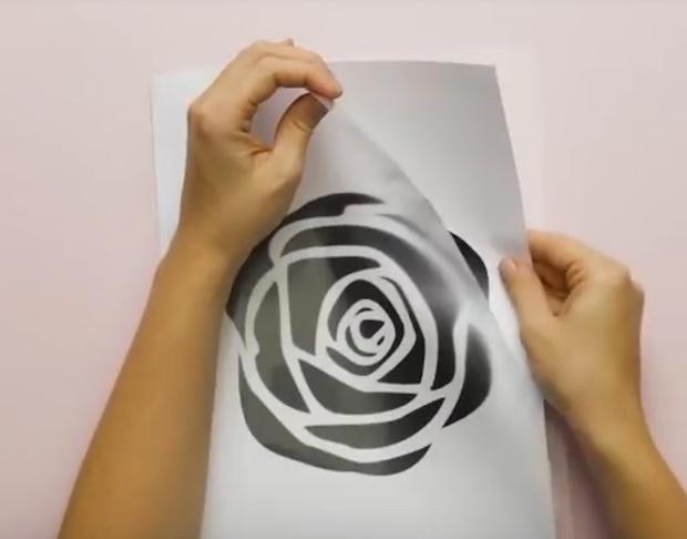 Dipingere le pareti in modo creativo con gli stencil, parte 1, da 5-Minute Crafts