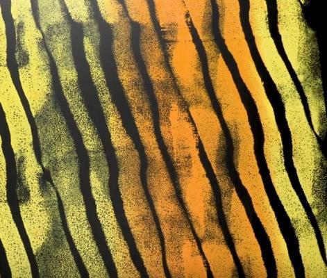Decorare le pareti: effetto striato, da 5-Minute Crafts